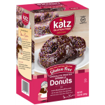 Katz Gluten Free Chocolate Frosted Colored Sprinkle Donuts, 10.5 Oz [6 Pack]