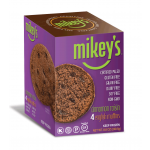 Mikey's Muffins Gluten Free English Muffins, Cinnamon Raisin, 8.8 Oz [4 Pack]