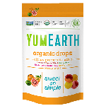Yummy Earth, Gluten Free Organic Vitamin C Citrus Grove Drops, 3 Oz Pouch (Pack of 6)
