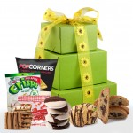 Sunny Smiles! Summer Gluten Free Gift Tower