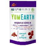 Yummy Earth, Gluten Free Organic Vitamin C Anti-Oxifruits Drops, 3 Oz Pouch (Pack of 6)