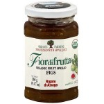 Fiordifrutta Gluten Free Organic Jam Spread, Fig, 8.82 OZ  (Case of 6)