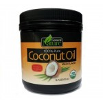 General Nature Gluten Free 100% Pure Coconut Oil, Mild Flavor (Case of 8)