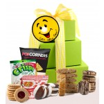 Smiles and Cheer! Get Well Gluten Free Gift Tower