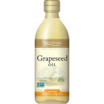 Spectrum Naturals Organic Refined Gluten Free Grapeseed Oil, 16 Oz [3 Pack]