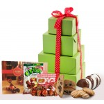 NEW!! Happy New Year! Deluxe Gluten Free Gift Tower - Super Sized!