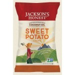 Jackson's Gluten Free Honest Sweet Potato Chips Made with Coconut Oil, 1.2 Oz (36 Pack)