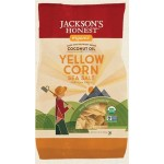 Jackson's Gluten Free Honest Organic Yellow Corn Tortilla Chips, 10 Oz (9 Pack)
