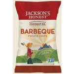 Jackson's Gluten Free Honest Organic Potato Chips Made with Coconut Oil, BBQ, 5 Oz (12 Pack)