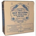 Gluten Free Shemura Oat Machine Matzos, 1 pound [Case of 12]