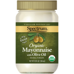 Spectrum Naturals Organic Gluten Free Olive Oil Mayonnaise, 12 Oz [6 Pack]