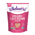 Wholesome Sweeteners, Gluten Free Organic Light Brown Sugar, 24 Oz. (Case of 2)