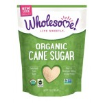 Wholesome Sweeteners, Gluten Free Organic Cane Sugar, 16 Oz Pouch (Case of 2)