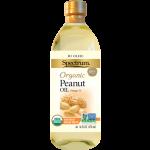 Spectrum Naturals Organic Gluten Free Peanut Oil, Hi Heat, 16 Oz [6 Pack]