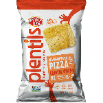 Enjoy Life Gluten Free Plentil Chips, Margherita Pizza, 4 Oz Bag (12 Pack)