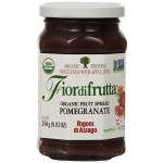 Fiordifrutta Gluten Free Organic Jam Spread, Pomegranate, 8.82 Oz. (Case of 6)