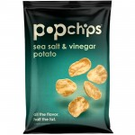 Gluten Free Popchips, Sea Salt Vinegar, 5 Oz Bag (Case of 12)
