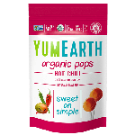 Yummy Earth, Gluten Free Organic Hot Chili Pops, 3 Oz Pouch (Pack of 6)