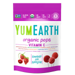 Yummy Earth, Family Size Gluten Free Organic Vitamin C Assorted Pops, 12.3 Oz Pouch ( Case of 12)