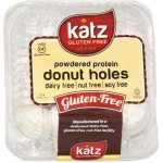Katz Gluten Free Powdered Protein Donut Holes, 6 Oz