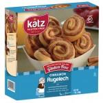 Katz Gluten Free Cinnamon Rugelach - Case of 6