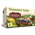 Celestial Seasonings Sleepytime Vanilla Herbal Tea (6 Boxes)
