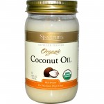 Spectrum Naturals Organic Gluten Free Coconut Oil, 14 Oz [6 Pack]