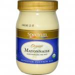Spectrum Naturals Organic Soy Gluten Free Mayonnaise, 32 Oz [3 Pack]