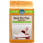 Authentic Foods, Superfine Gluten Free Sweet Rice Flour, 3 Lb (Case of 6)