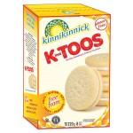 Kinnikinnick KinniToos Gluten Free Vanilla Sandwich Crème Cookies - Case of 6