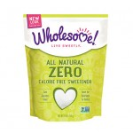 Wholesome Sweeteners, Gluten Free Organic Zero, Sugar Substitute, 6.2 Oz (Case of 2)