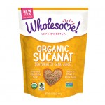 Wholesome Sweeteners Gluten Free Organic Sucanat (Sugar Substitute), 32 Oz (12 Pack)
