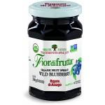 Fiordifrutta Gluten Free Organic Jam Spread, Wild Blueberry, 8.82 OZ ( Case of 6)