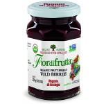 Fiordifrutta Gluten Free Organic Jam Spread, Wildberries, 8.82 OZ (Case of 6)