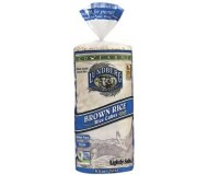 Lundberg EcoFarmed Brown Rice Cakes, Lightly Salted