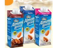 Almond Breeze Almond Milk, Vanilla, 8 Oz (12 Pack)