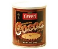 Gefen Cocoa Powder, 7 Oz Can (12 Pack)