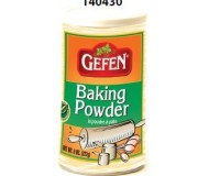 Gefen Baking Powder, 8 Oz Tub (24 Pack)