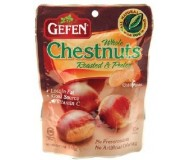 Gefen Roasted Whole Chestnuts, Shelled, 3 Oz Bag (Case of 24)