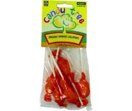 Candy Tree Organic Orange Lollipops (12 Pack)