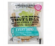 Del Campo Corn Tostadas, Everything, 1.1 Oz (50 Bags Per Case)