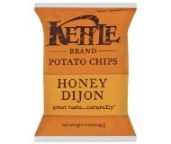 Kettle Foods Potato Chips, Honey Dijon