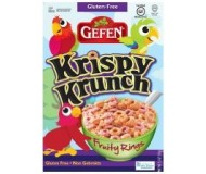 Gefen Gluten Free Krispy Krunch, Fruity Rings (Case of 12)