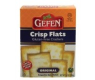 Gefen Gluten Free Crisp Flats, Original, 5.2 Oz. (Case of 12)