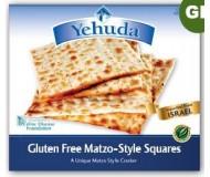 Yehuda Gluten Free Matzo Squares, 10.5 Oz Box