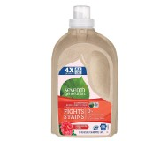 Seventh Generation Natural 4X Concentrated Liquid Laundry, Geranium Blossoms & Vanilla, 66 loads, 50 Fl Oz [Case of 6]