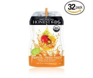 Honest Kids Drink Pouch, Tropical Tango Punch