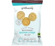 Goldbaum's Multigrain Quinoa Crisps, Sea Salt, 3 Oz. (Case of 12)