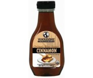 Wholesome Sweeteners Organic Raw Blue Agave Nectar, Cinnamon