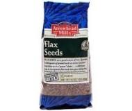 Arrowhead Mills Organic Flax Seed, 1 Lb. Bag (6 Bags)